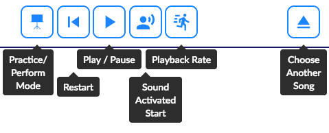 FATpick's Playback Controls.