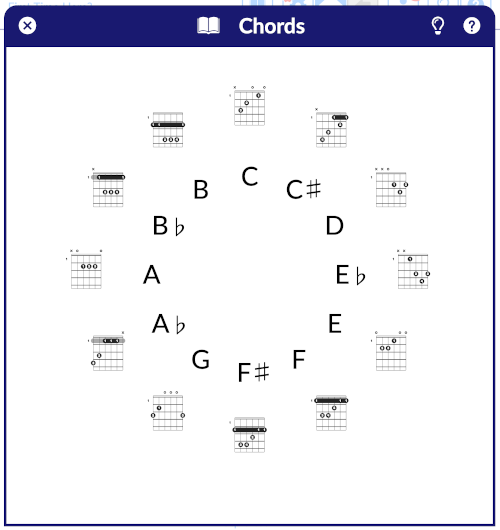 Chord Database Screenshot