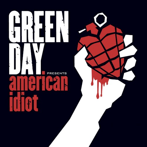 Cover art for American Idiot by Green Day featuring the song Boulevard of Broken Dreams