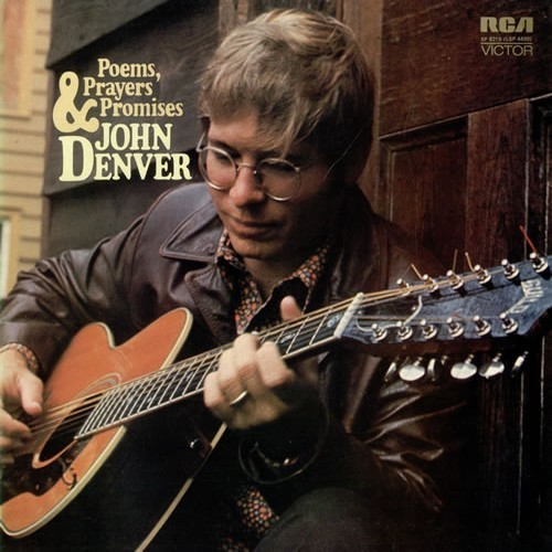 Album cover for Poems, Prayers & Promises by John Denver featuring the song Country Roads