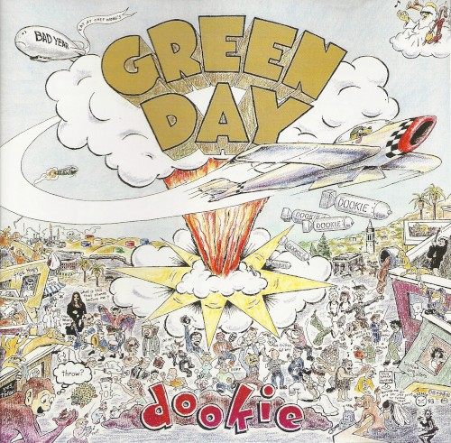 Cover art for Dookie by Green Day featuring the song When I Come Around